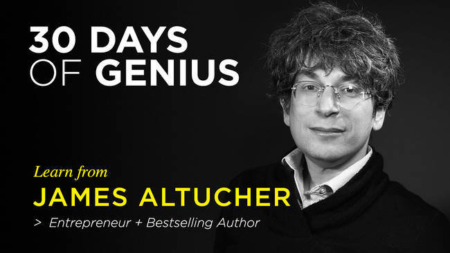 The Ultimate Cheat Sheet For Reinventing Yourself by James Altucher